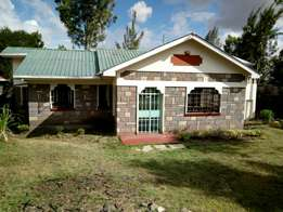Three bedrooms masters enseute in ongata rongai nkoroi area
