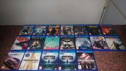 PS4 Games in Boxes