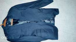 Complete Fitted Grey suit size 48
