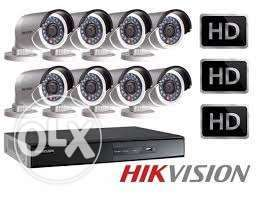 8 Channel cctv systeam