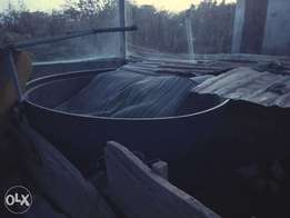 Tank for fish pond
