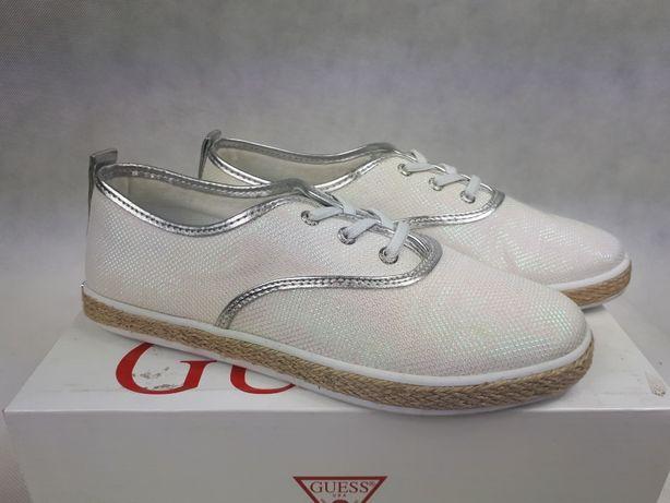 366b3cd2cedb4 Nowe trampki Sneakersy GUESS białe poswiata.syrenka white 39 tenisówki  Pruszków - image 2
