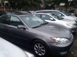 Just in Tokunbo Toyota Camry XLE 2005 model available for sales leathe