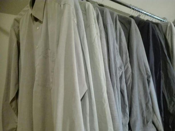 1a8f3e2e139065 Koszule męskie, firmowe, rozmiar L, 8 sztuk Sanok - image 1