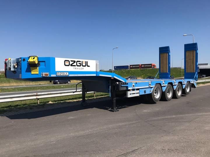 Ozgul LW4 70 Ton Quad/A Semi lowbed (UNUSED) - 2019