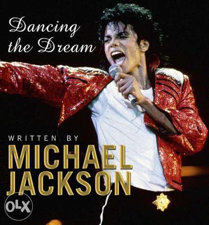 Michael Jackson's Dancing The Dream Book (Hardcover) NEW!