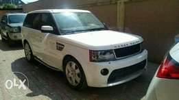 Range Rover sport upgraded to 2013