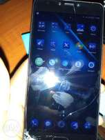 3 weeks old Infinix Note 4 (3GB RAM, 32GB ROM) with cracked screen