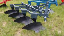 4 furrow mouldboard frame plough