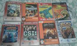 PC games and a ps2 game