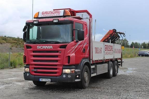 Scania Lb6x2hnb - 2009