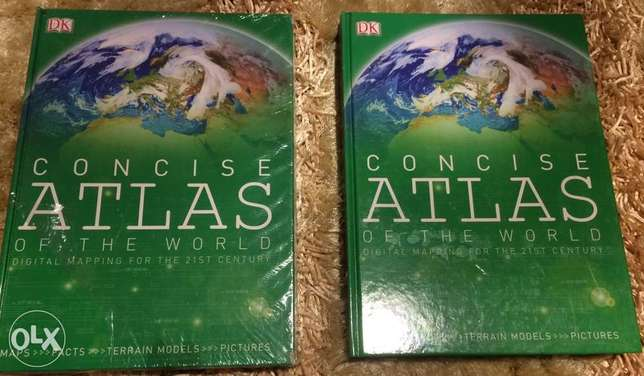 Concise Atlas of The World - New