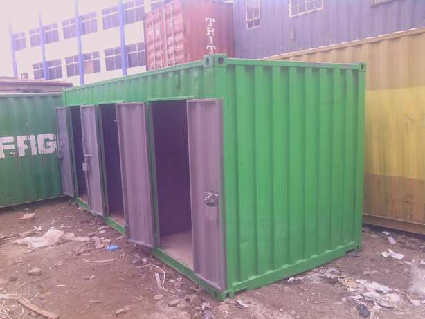 20ft Stalls Container with cut-out doors Ruiru - image 5