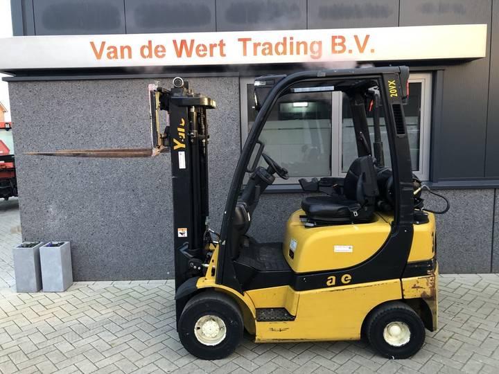 heftruck YALE GLP20SVX triplo440 freelift sideshift 200... - 2009
