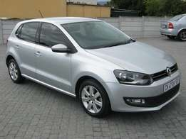 vw polo 6 1.6tdi hatchback,full service history,accident free,aa repor