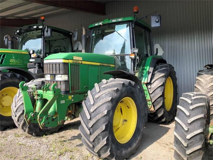 John Deere 6910s Aq Traktor Fr.lyft - 2000