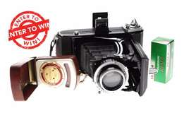 Win a Zeiss Ikon medium format vintage camera