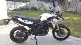 2013 BMW F800GS, white, facelift