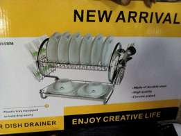 It's a 2 layer dish drainer. It is large n strong enough to support