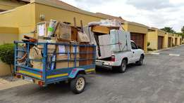 Bakkie for hiring