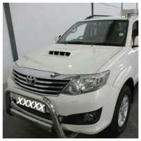 Toyota Fortuner daily rent