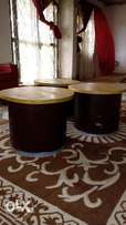 Round coffee tables (3)