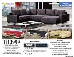 Affordable U shape lounge suite
