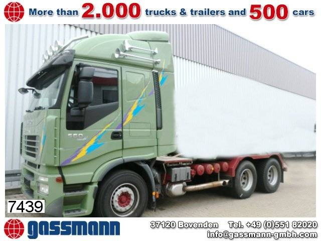 Iveco stralis as260 s56 6x4 standheizung/autom./efh. - 2007