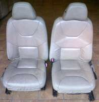 Front Cream Leather SEATS - From Volvo S60