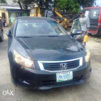 clean registered 2008 honda accord for sale