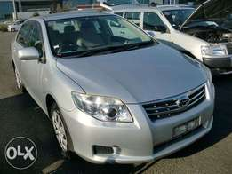 Toyota Axio 2011 model silver colour