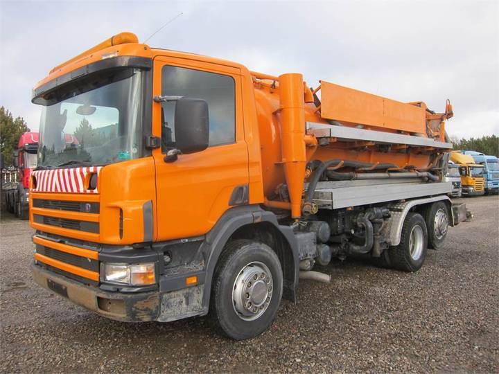 Scania 94d-220 6x2*4 Jhl 8000 L. - 1998