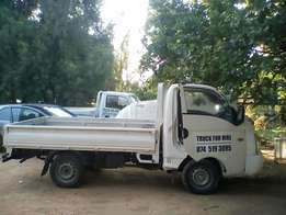 Truck and bakkie hire low prices