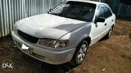 Toyota Ae110 v.clean, accident free,manual, 5a engine .Trade-In accept