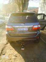 2010 Toyota fortuner 3.0 D4D grey color automatic 98000 R210000