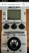 Zoom ms 50g guitar effect
