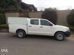 2011 Manual Diesel Toyota Hilux with AC & Double Cabin (Bought new)