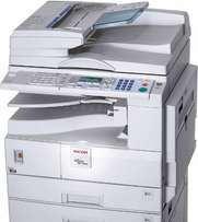 Ricoh mp2000 with low counter with printer/scanner/duplex