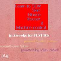 Learn to sew in 2weeks