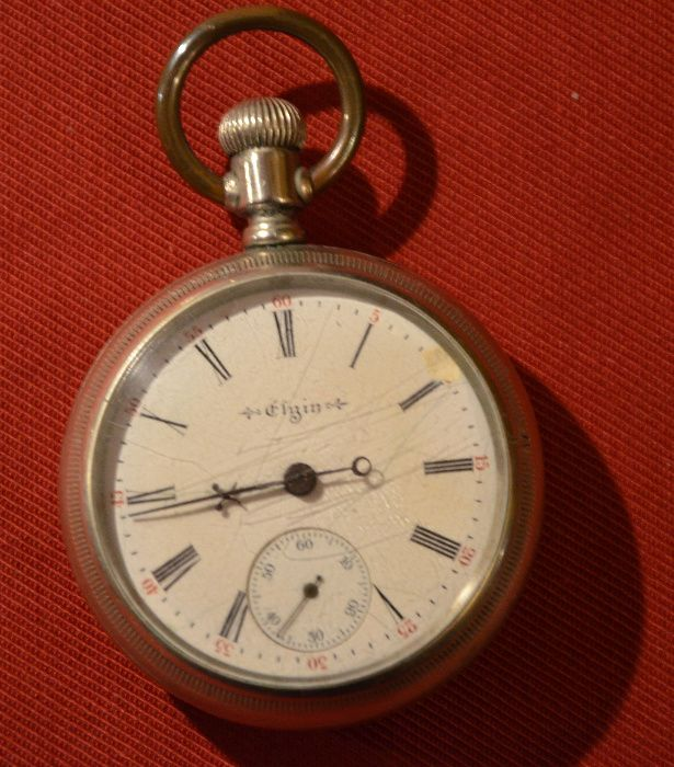 Zegarki kieszonkowe Elgin