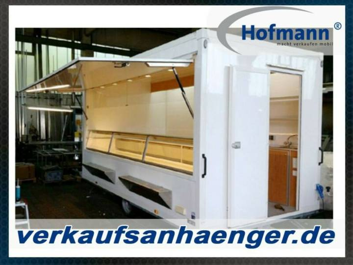Hofmann kühlthekenanhänger 1800kggg 410x230x230