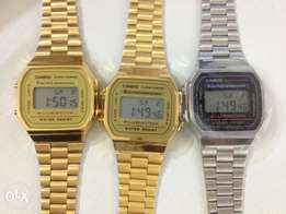 Casio illuminator digital wristwatches