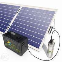 * Solar pumps and drip irrigation solutions
