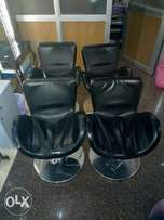 Salon styling chairs,8 pieces