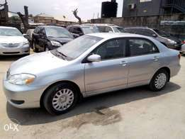 Tincan cleared tokunbo toyota corola 2006 leather