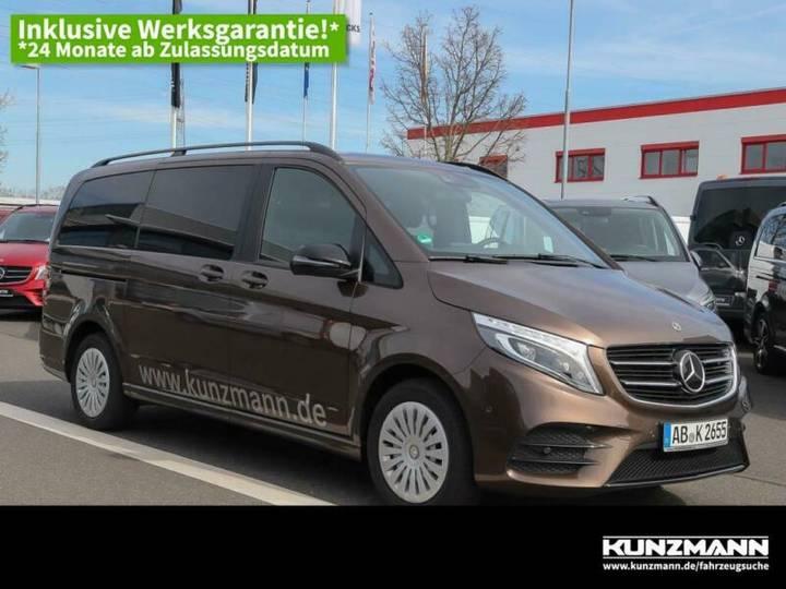 Mercedes-Benz V 220 d Edition lang AMG Night LED AHK Panorama - 2018