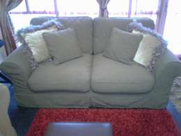 As new stained proof Coricraft couch