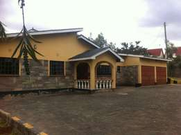 Three bedrooms for sale in ngong