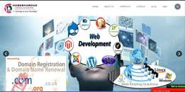 Web Design and development services from 10,000/=