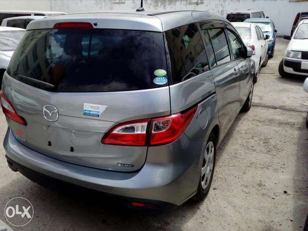 Mazda premacy new shape new plate number silver color fresh import Mombasa Island - image 3